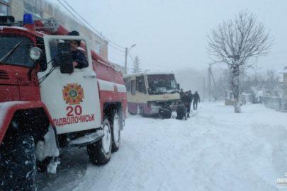 тернопіль стихія снігопад