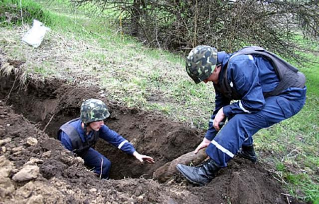 За три доби на теренах Канівщини рятувальники знищили 34 боєприпаси часів минулих війн