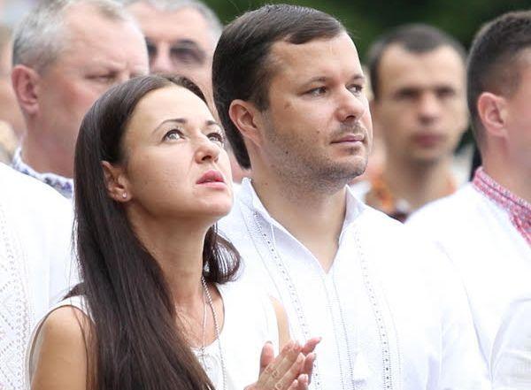 Ігор Гуда з дружиною