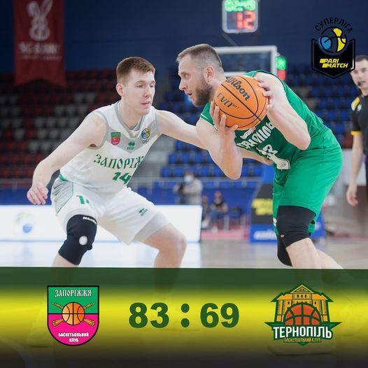 БК Тернопіль програв перший матч серії плей-офф